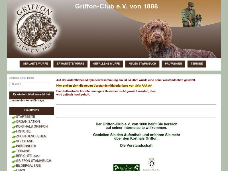 Screenshot von http://griffon-club.de/